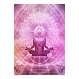 Meditation Yoga Style Card