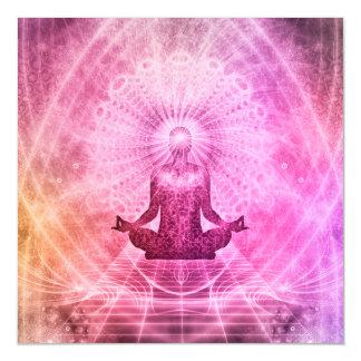 Meditation Yoga Style Magnetic Card