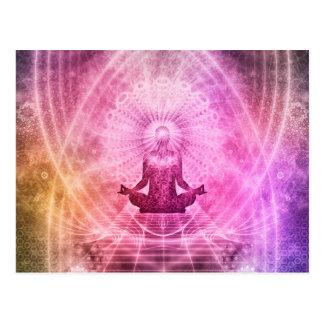 Meditation Yoga Style Postcard