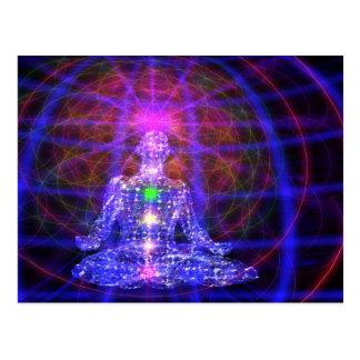 MeditationMan Postcard