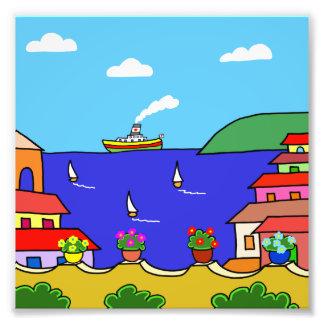 Mediterranean Holiday Photo Print