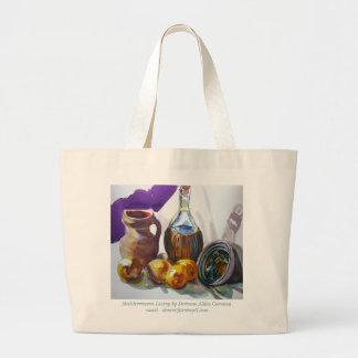 Mediterranean Living by Doranne Alden Caruana Jumbo Tote Bag