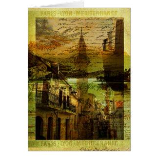 Mediterranean Mélange Greeting Card
