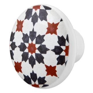 Mediterranean Moroccan Beautiful Furniture Ceramic Knob