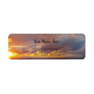 Mediterranean Sea Address Labels