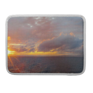 Mediterranean Sunset Macbook Sleeve