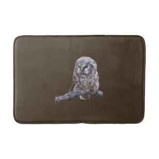 Medium Bath Mat w/ owl