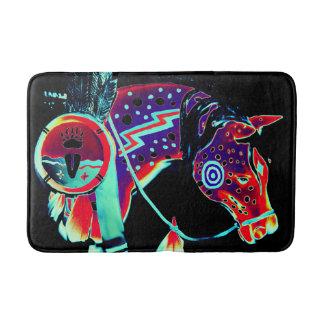 "Medium Bath Mat with ""Painted Pony"" Design Bath Mats"