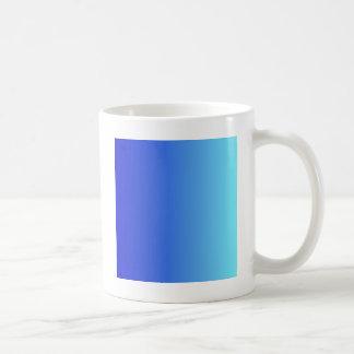 Medium Blue to Electric Blue Vertical Gradient Coffee Mug
