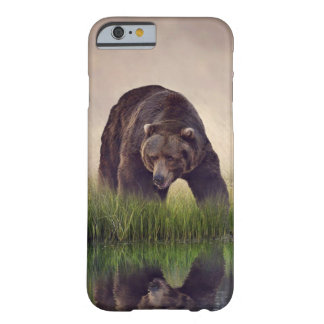 Medium brown bear barely there iPhone 6 case