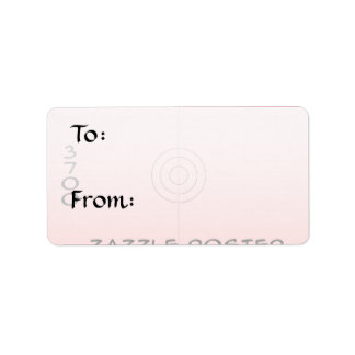 Medium - Gift Tag Address Label