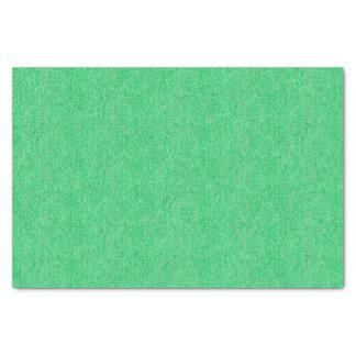 Medium Green Denim Texture Tissue Paper