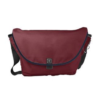Medium Messenger Bag, Bordeaux, Midnight Messenger Bag