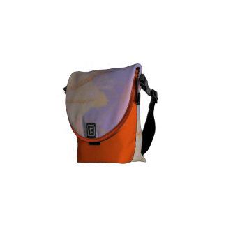 Medium Messenger Bag Consciousness Design Orange