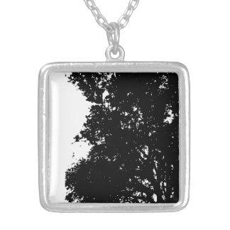 Medium Necklace PAPA'S TREE SILHOUETTE