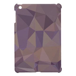 Medium Purple Abstract Low Polygon Background Case For The iPad Mini