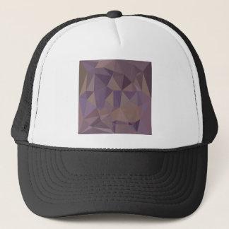 Medium Purple Abstract Low Polygon Background Trucker Hat