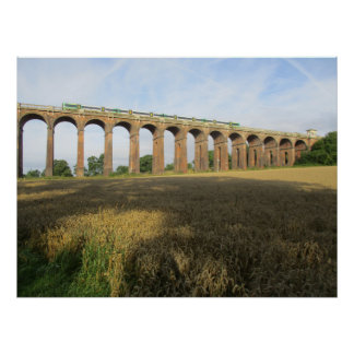Medium Size Poster: Ouse Valley Viaduct. 90 x 61cm Poster