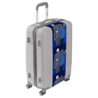 Medium Sized Luggage Suitcase BERNIE N JANE LOVE