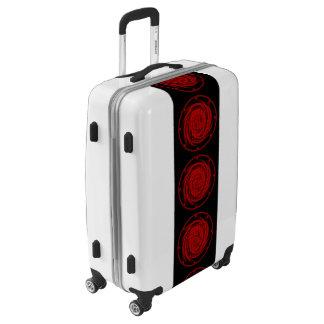 Medium Sized Luggage Suitcase BLACK HOLE SWIRL