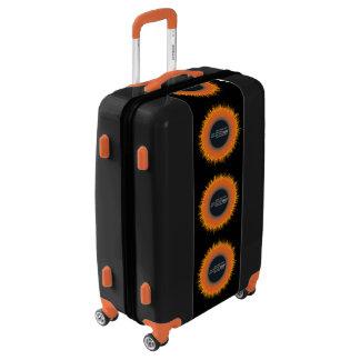 Medium Sized Luggage Suitcase CHAOS SUN