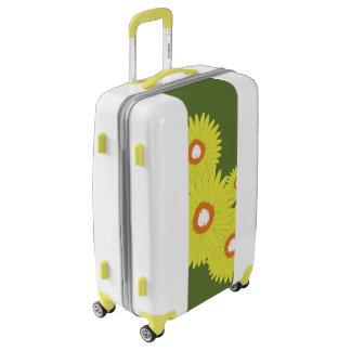 Medium Sized Luggage Suitcase DAISY BURST