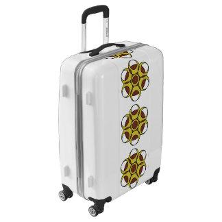 Medium Sized Luggage Suitcase GRUNGE CIRCLE LOGO