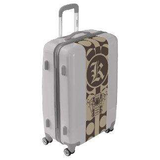 Medium Sized Luggage Suitcase IRONWORK SCROLLWORK