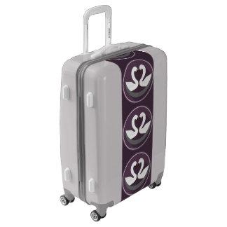 Medium Sized Luggage Suitcase LOVE SWANS
