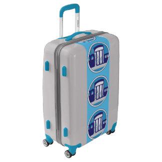 Medium Sized Luggage Suitcase MEDITERRANEAN DREAM