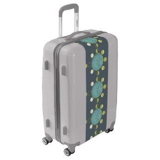 Medium Sized Luggage Suitcase MOON PHASES
