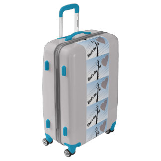 Medium Sized Luggage Suitcase POWER OF LOVE SILOUE