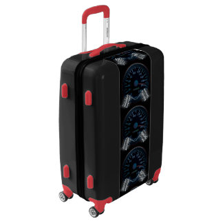Medium Sized Luggage Suitcase SPEEDOMETER FINISH F