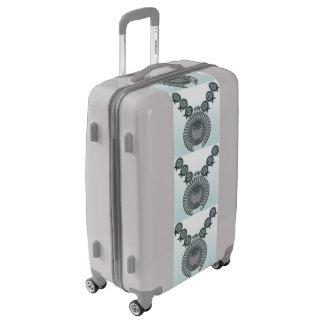 Medium Sized Luggage Suitcase SQUASH BLOSSOM