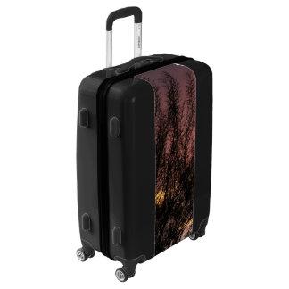 Medium Sized Luggage Suitcase SUNSET TREE PHOTOGRA