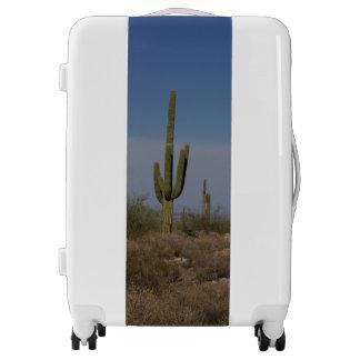 Medium Sized Luggage Suitcase w/cactus photo