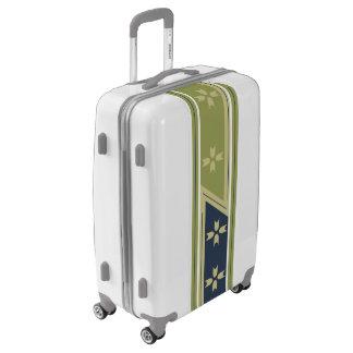 Medium Sized Luggage Suitcase WIDE LINE LAYOUT