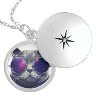 Medium Sterling Silver Round Locket