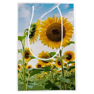 Medium Sunflower Gift Bag