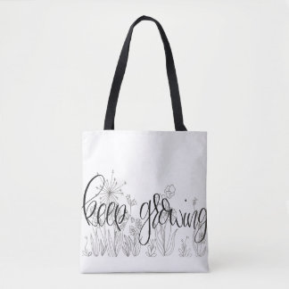 Medium Tote- Keep Growing Tote Bag