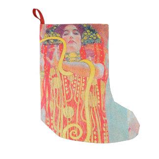 Medizin by Gustav Klimt,art nouveau,vintage,deco Small Christmas Stocking