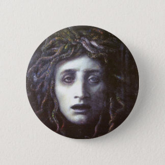 Medusa 6 Cm Round Badge