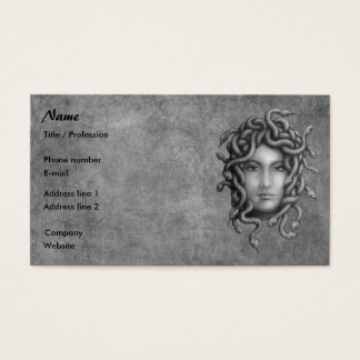 Medusa Business Card