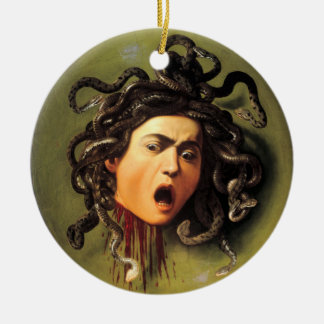 Medusa, Caravaggio Ceramic Ornament