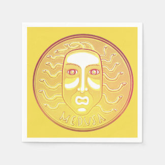 Medusa Coin napkins Paper Serviettes