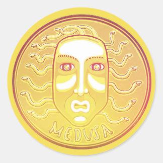 Medusa Coin sticker