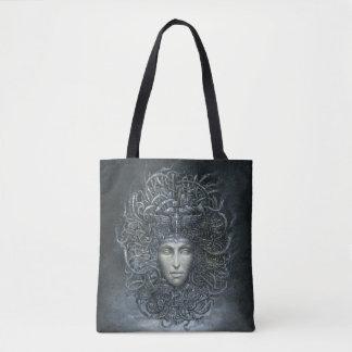 Medusa Cyborg All-Over-Print Tote Bag