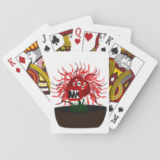 Medusa Flower Playing Cards