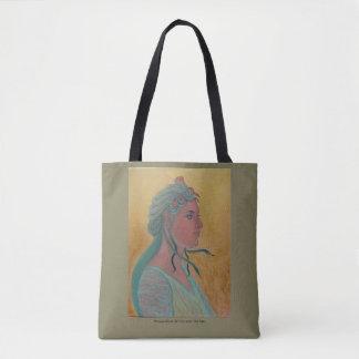Medusa - Portrait study tote bag