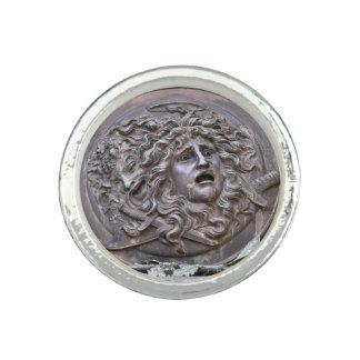 Medusa Shield of Athena Ring